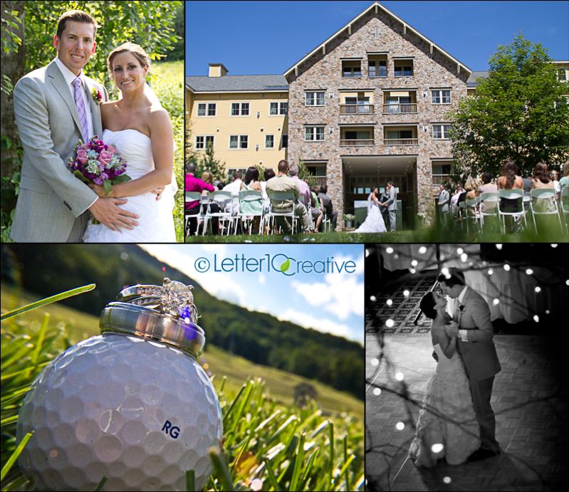Okemo Summer Wedding by Vermont Photographers Letter10 Creative