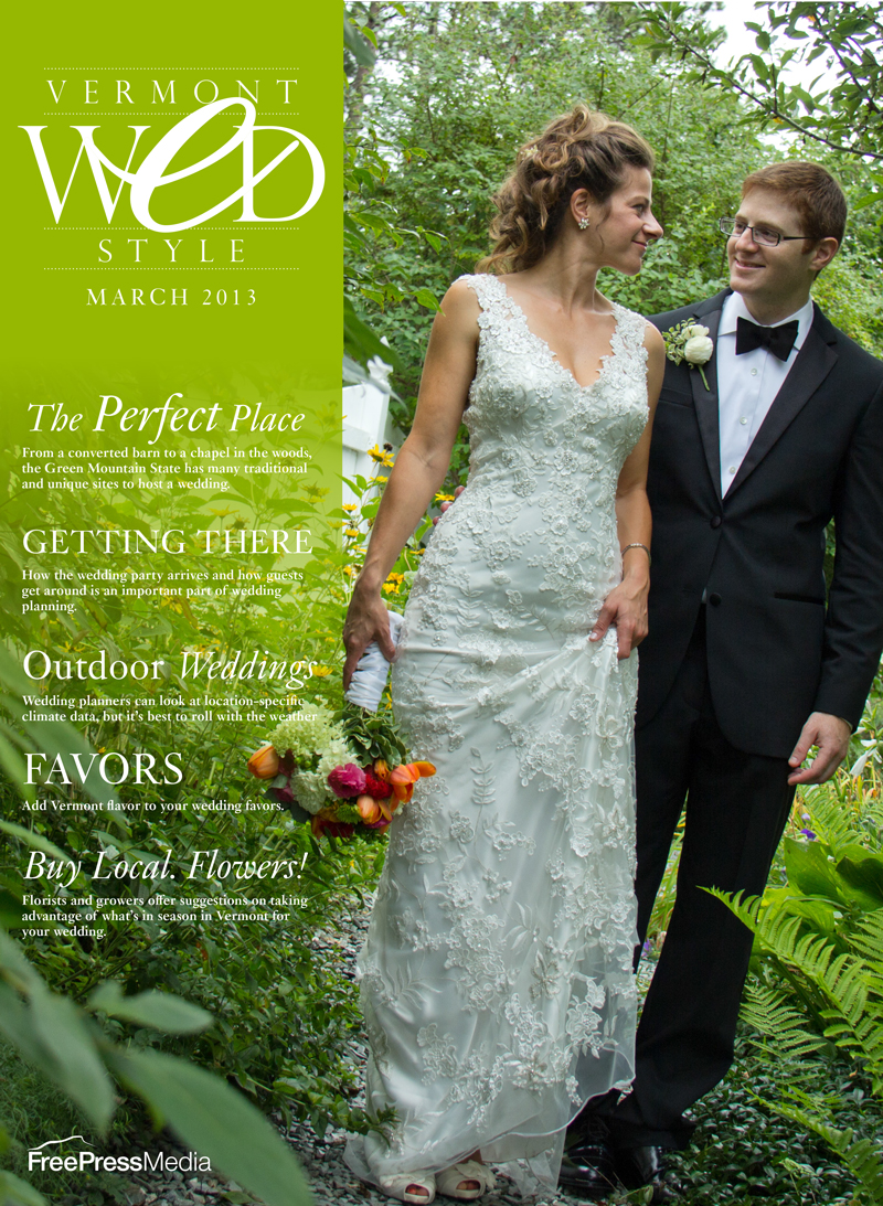 Burlington Free Press Vermont Wed Bridal Cover
