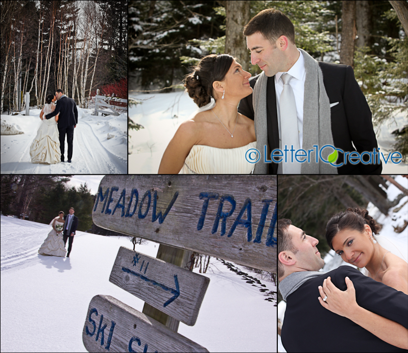 Vermont Winter Wedding at Inn at Mountaintop in Chittenden, Vermont