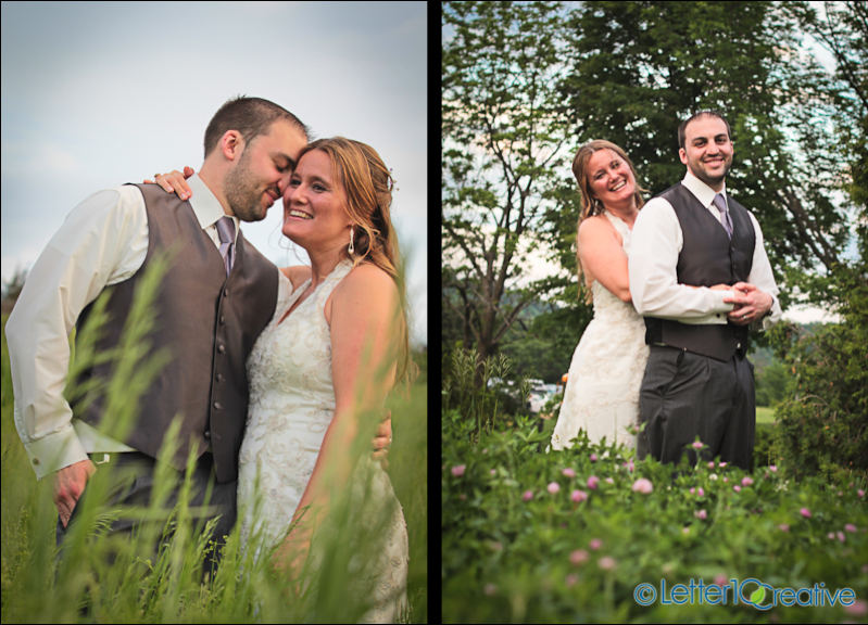 Vermont Wedding Photographers at Old Lantern Charlotte Vermont