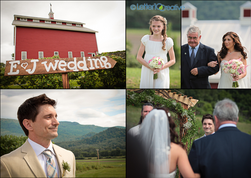 West monitor barn wedding Vermont by Letter10 Creative