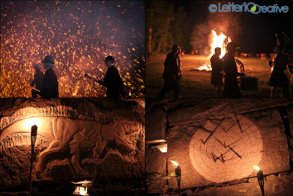 Iron Guild, Chris Miller, Heather Richie Sculptures RockFire Vermont