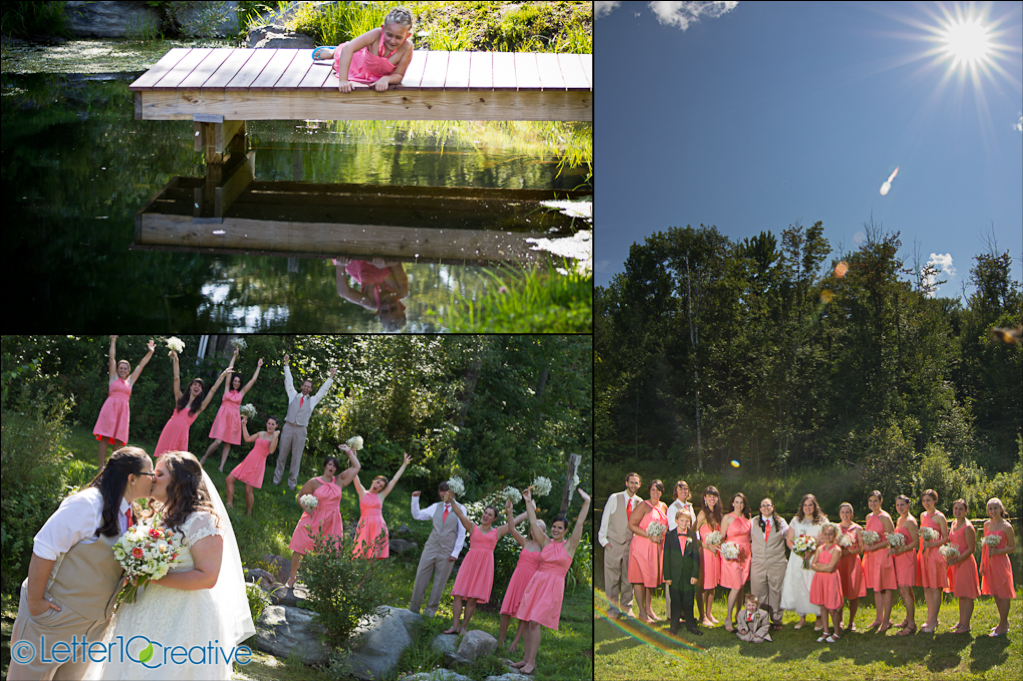 Sleepy Hollow Wedding by Vermont Photographers Letter10 Creative
