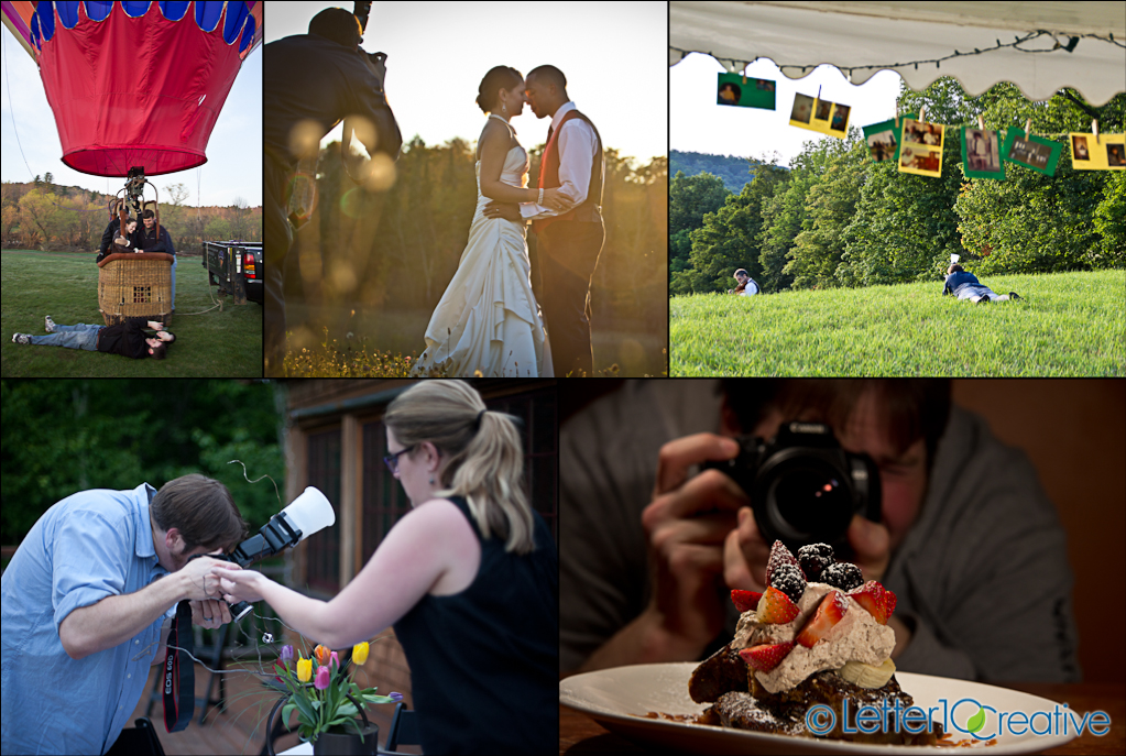 Employee Appreciation week at Vermont Wedding Photography Letter10 Creative