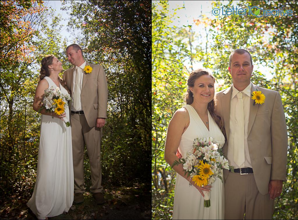 Vermont Wedding Photography at Button Bay State Park Vergennes