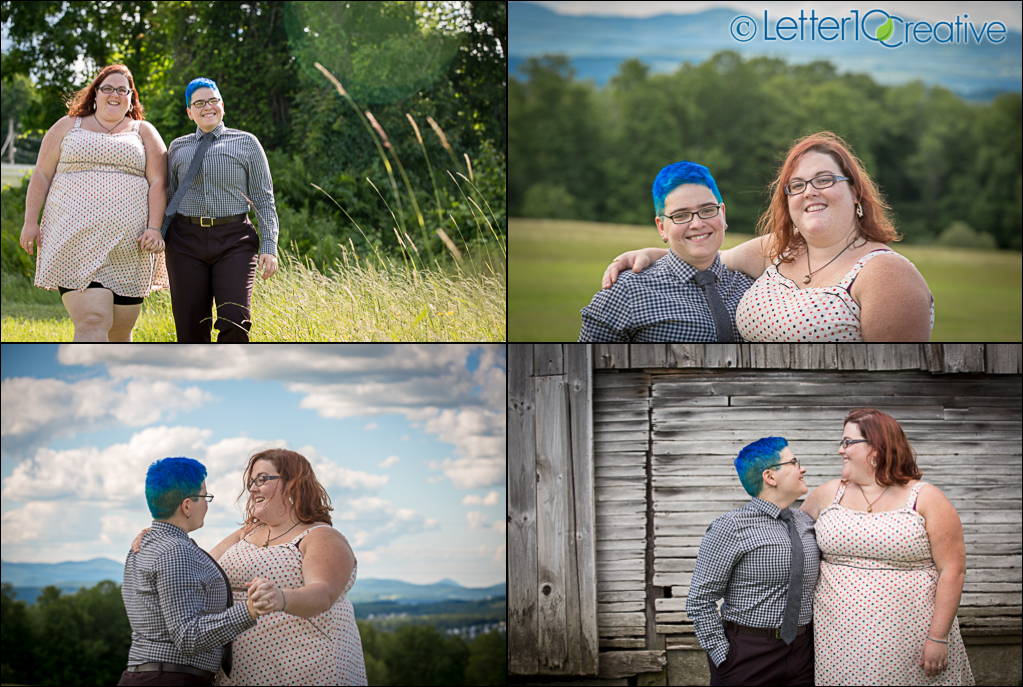 Websterville Barre Vermont Engagement Session by Letter10 Creative