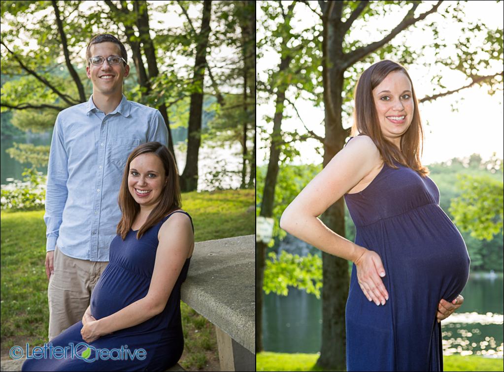 Maternity Portraits in Essex Vermont