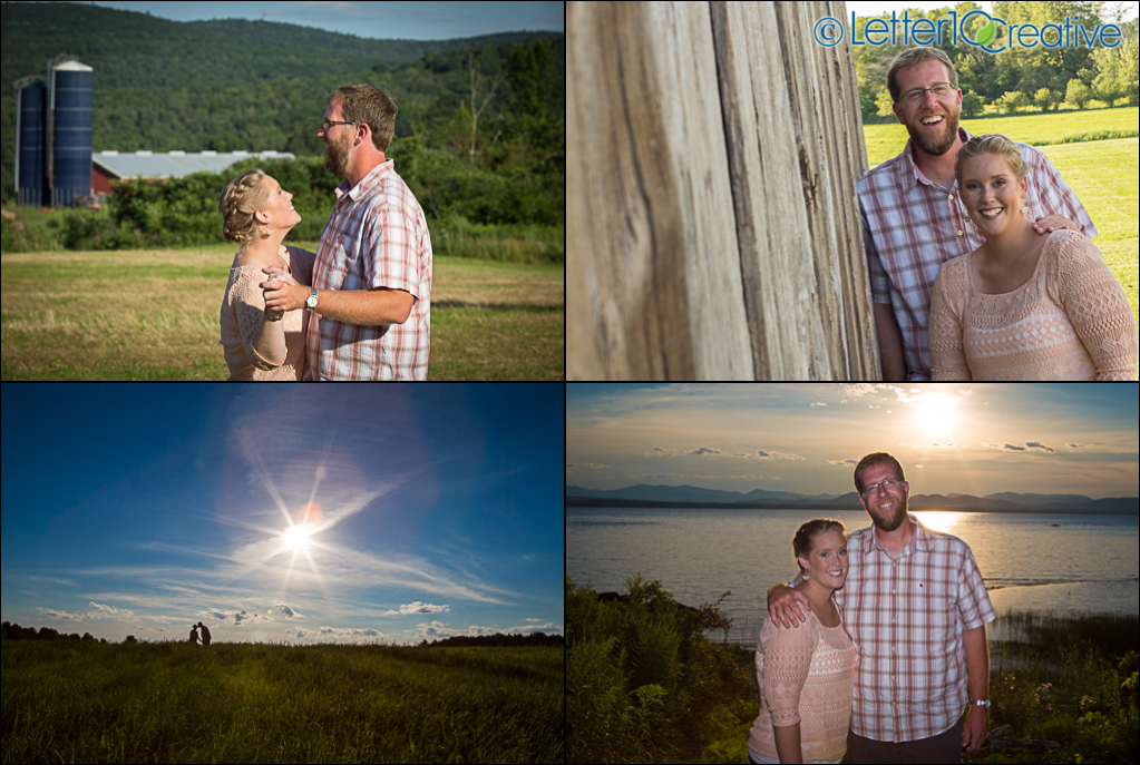 Charlotte Vermont Engagement Portraits by Vermont Wedding Photographers