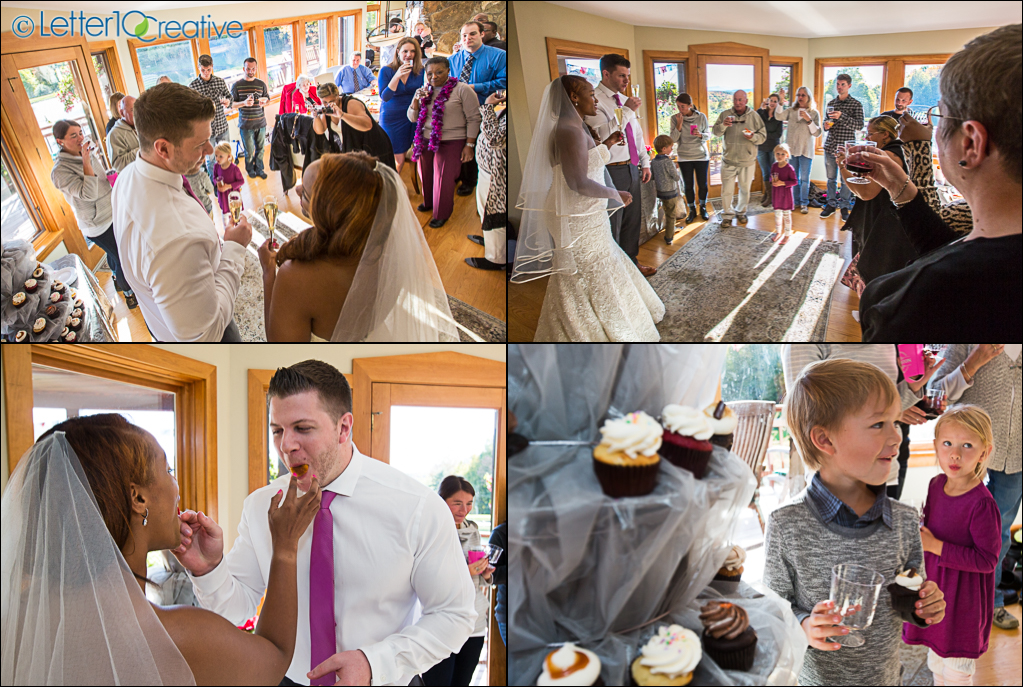 Fall Wedding in Stowe Vermont by Vermont Wedding Photographers Letter10 Creative