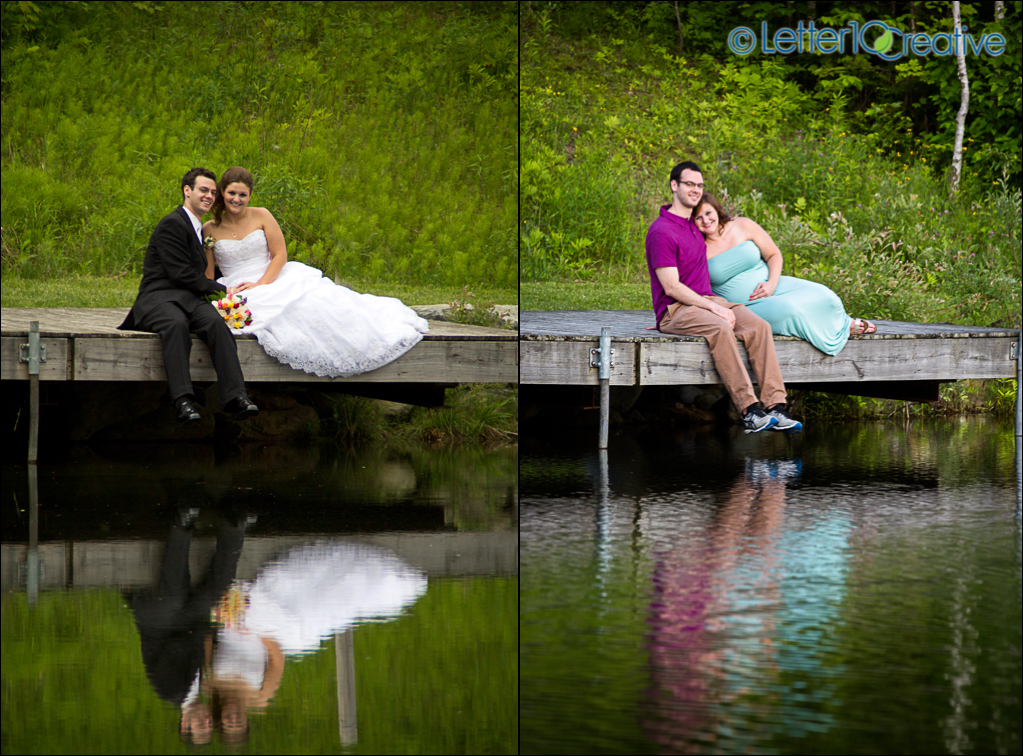 Vermont Maternity Session at The Ponds Bolton by Maternity Photographers Letter10 Creative