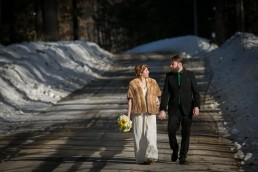 Spring Equinox Elopement Wedding by Vermont Photographer