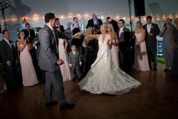 wedding first dance swirl twirl dress in stowe vermont