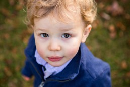 A candid lifestyle portrait of a toddler closeup captured in Hinesburg, Vermont