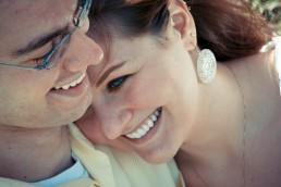vermont engagement portrait close up laugh in waterbury