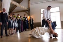 first dance dip at mountain topp Inn in Chittenden Vermont