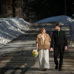 Spring Equinox Elopement Wedding by Vermont Photographer
