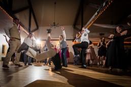 premier dj breakdancing at wedding reception in Jay Peak, Vermont