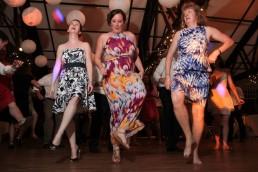 Irish jig dancing at wedding reception at the Iron Lantern in Charlotte, Vermont