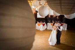 iron lantern wedding in Charlotte, Vermont. Couples first dance
