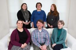 business branding group indoor portrait in Vermont