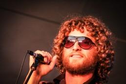 a personal branding image of man singing at Burlington Vermont Jazz Fest