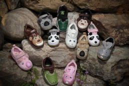 A product lineup of footpals childrens shoes